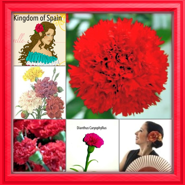 National Flower Seriessouthern Europe 1 Kingdom Of Spain