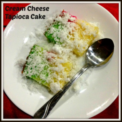 CCC – Cheesy Cassava Cake–A Modified Version of The Traditional Nonya Kuih Bengka Ubi