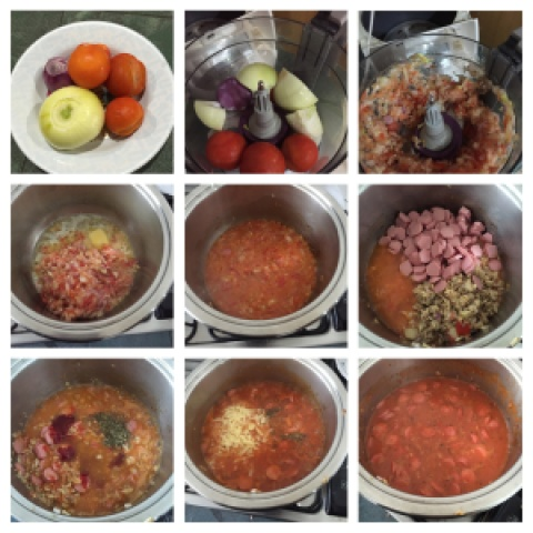 Let's See How An Asian Make The Tomato Pasta Sauce From Scratch ….