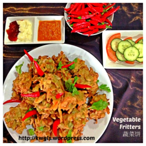 Vege Vege Vegetable Fritters–Indonesian's Bakwan Sayuran