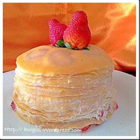 Mille Crepe Cake (米勒千层蛋糕)