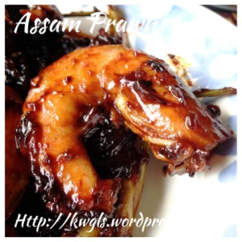 Prawns, Prawns, Prawns… Join Me To Cook Assam Prawns