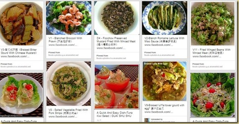 5 - Vegetables Dishes