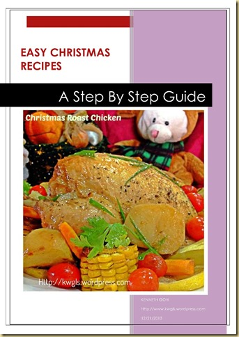 CHRISTMAS RECIPE GUAISHUSHU_1