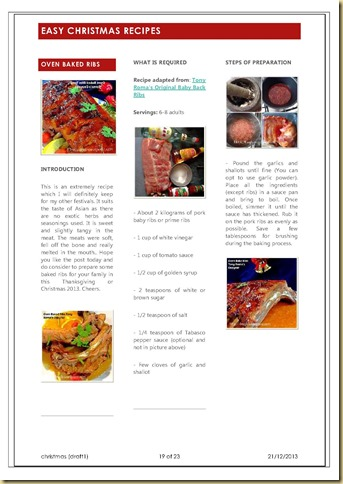 CHRISTMAS RECIPE GUAISHUSHU_21