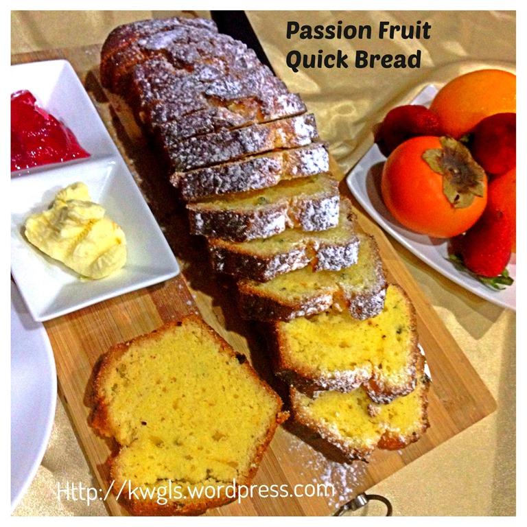 A Healthier Alternative Than Cake Passion Fruit Quick