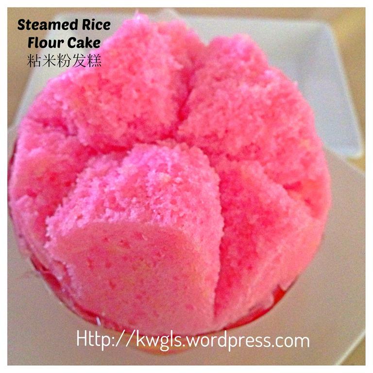 Recette Sponge Cake Chinois