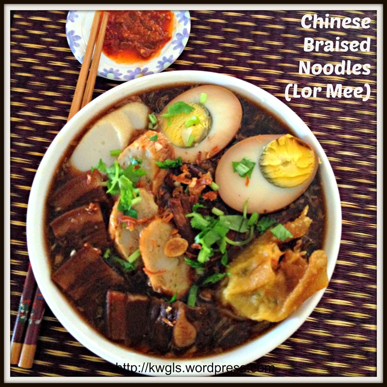 Chinese Braised Noodles (Lor Mee) – 卤面