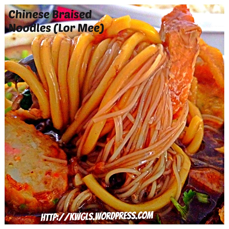 Chinese Braised Noodles (Lor Mee)