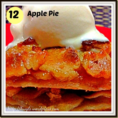 12-Apple pie