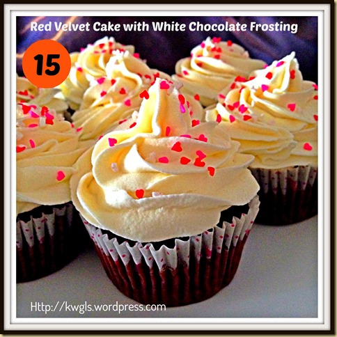 15-Red Velvet Cup cakes