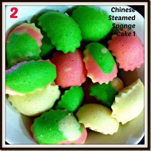 2-steamed sponge cake