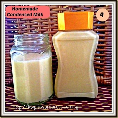 4-condensed milk