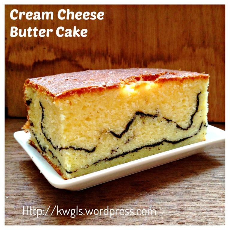 Another Alternative To Butter Cake Cream Cheese Butter Cake 奶酪牛油蛋糕 Guai Shu Shu