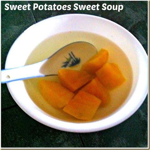 sweet potatoes sweet soup