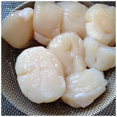 Scallop On Yam Basket (扇贝芋窝)