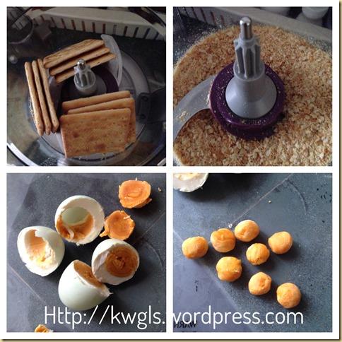 Prawn Croquettes (咸香虾枣可乐饼)
