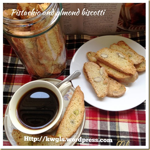 Have You Ever Try Biscotti? – Pistachio and Almond Biscotti (开心果及杏仁饼干)
