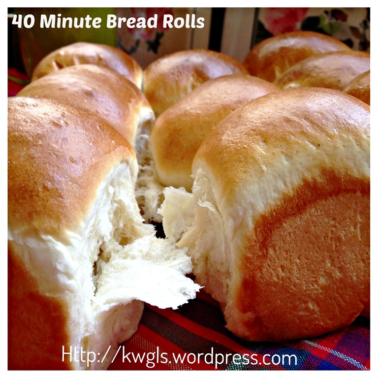 Bread recipes for 40 rolls