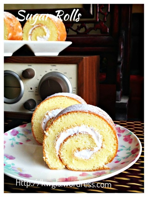 Sponge Cake Using Separated Eggs And Fat