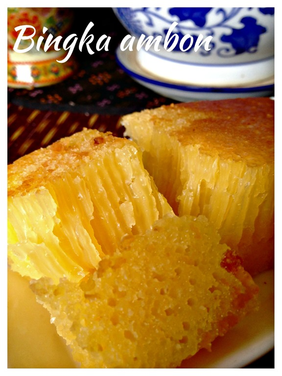 Indonesian Cake Bingka Ambon