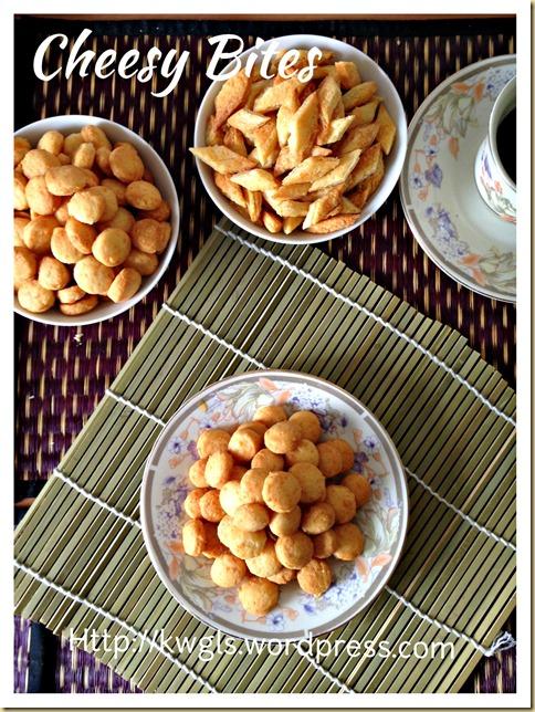 Cheesy Biscuit Bites (芝士小饼干)