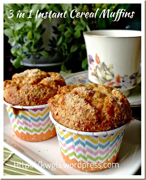 Baby Cereal Muffins (小孩麦片小松饼)