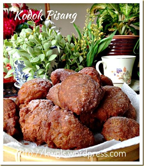 Mashed Banana Fritters–Jemput Jemput Pisang, Kuih Kodok, Kuih Cekodok, Kuih Cokodok (炸香蕉球)