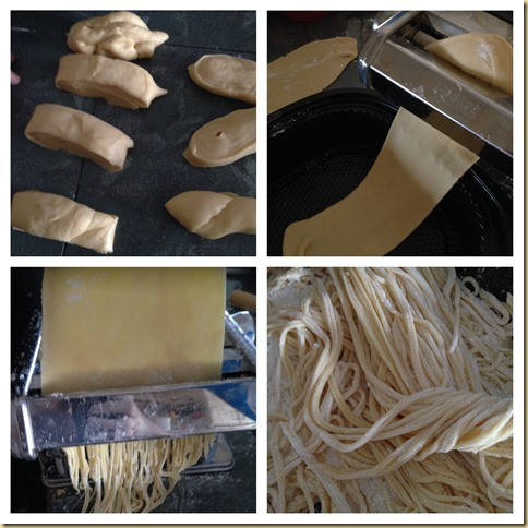 Homemade Egg Noodles (家居自制鸡蛋面)