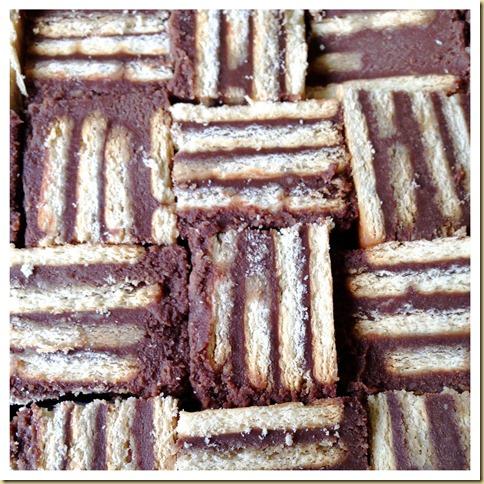 Traditional Batik Cake or Hedgehog Cake