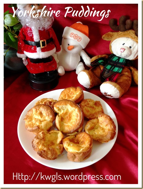 Yorkshire Puddings (约克郡布丁)