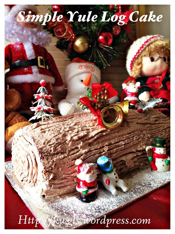 Chocolate Yule Log Cake Recipe Bbc