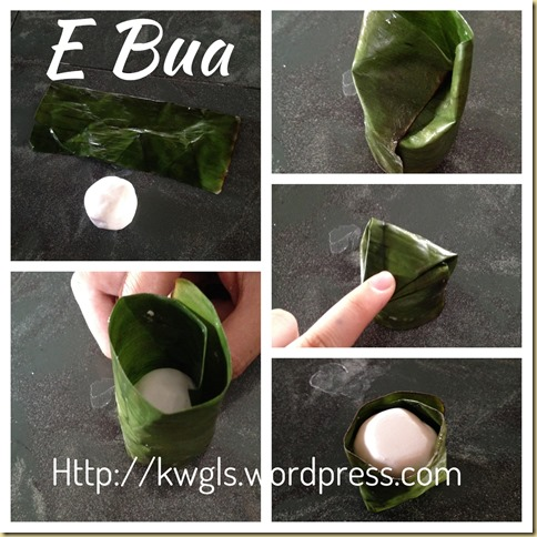 You Seen This Glutinous Rice Cake Before–Hainanese Coconut Kuih or E Bua or Yi Ba (海南薏粑粿)