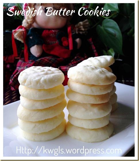 Uppåkra (Swedish Butter Potato Starch Cookies) (瑞典马铃薯粉牛油饼干)