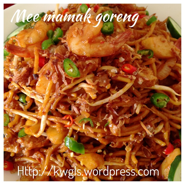 Recipe adapted from : LIN'S FOOD – MEE GORENG MAMAK INDIAN FRIED ...