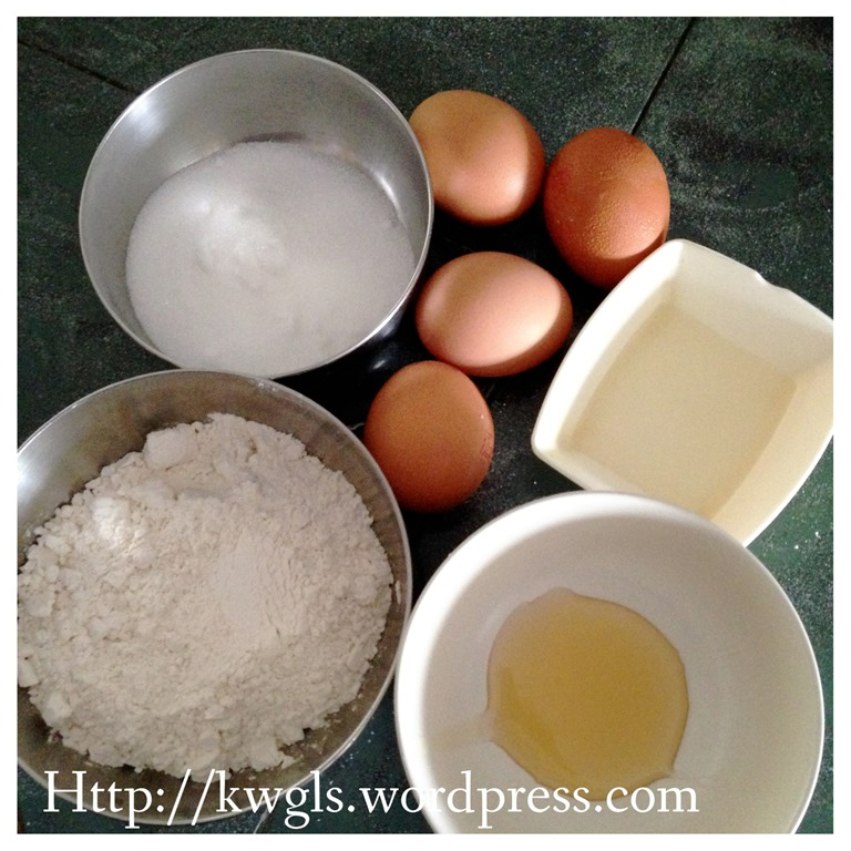 Castella Cake Recipe In X Pan