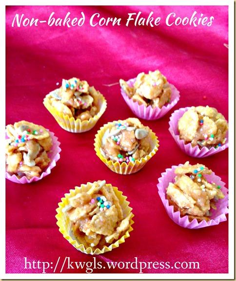No Bake Cornflake Cookies Cup (免烤酥脆玉米片曲奇)