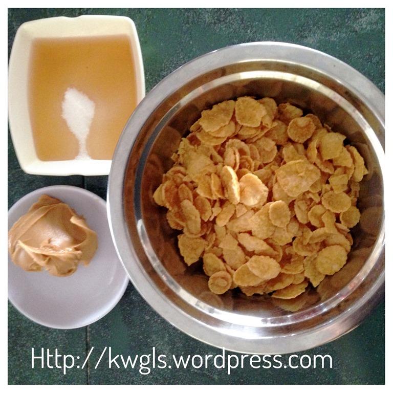 No Bake Cornflake Cookies Cup (免烤酥脆玉米片曲奇) - Guai