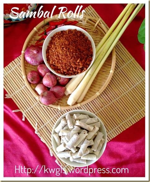 Sambal Udang Kering–Dry Shrimps Spiced Condiments (辣椒虾米松)