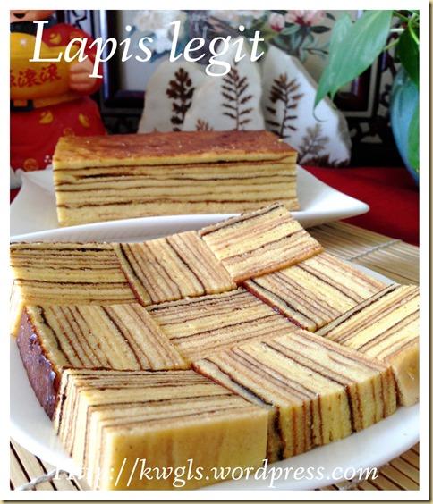 Water Melon Lapis (Lapis tembikai or 西瓜千层蛋糕)