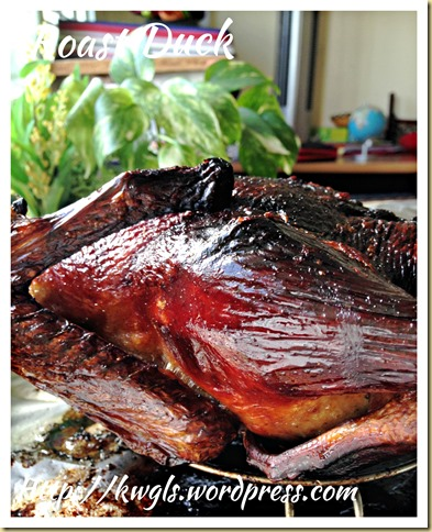 Cantonese Roast Duck (粤式脆皮烤鸭)
