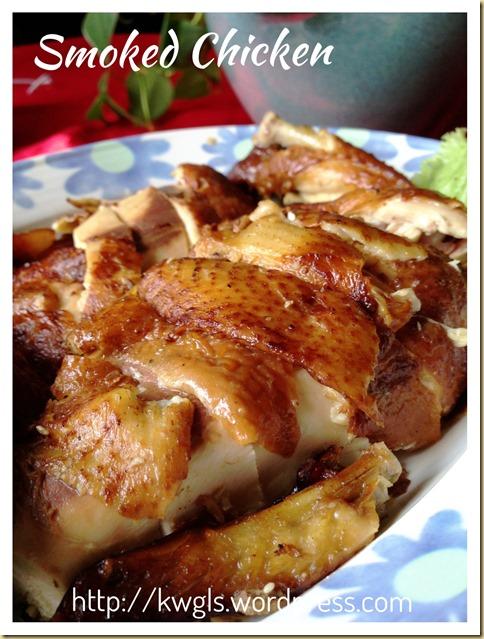 Zhao An (Chawan) Smoked Chicken (诏安熏鸡)