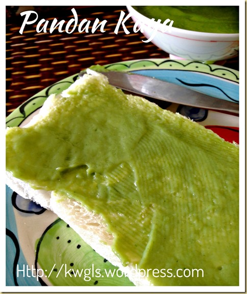Coconut Egg Jam - Pandan Kaya (香兰加椰)And Caramel Kaya (焦糖加椰)