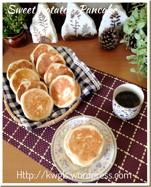 Chinese Sweet Potatoes Pancake (地瓜烧饼, 番薯饼)