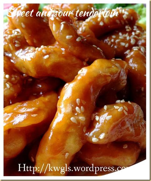 Sweet And Sour Pork Strips (糖醋里脊)