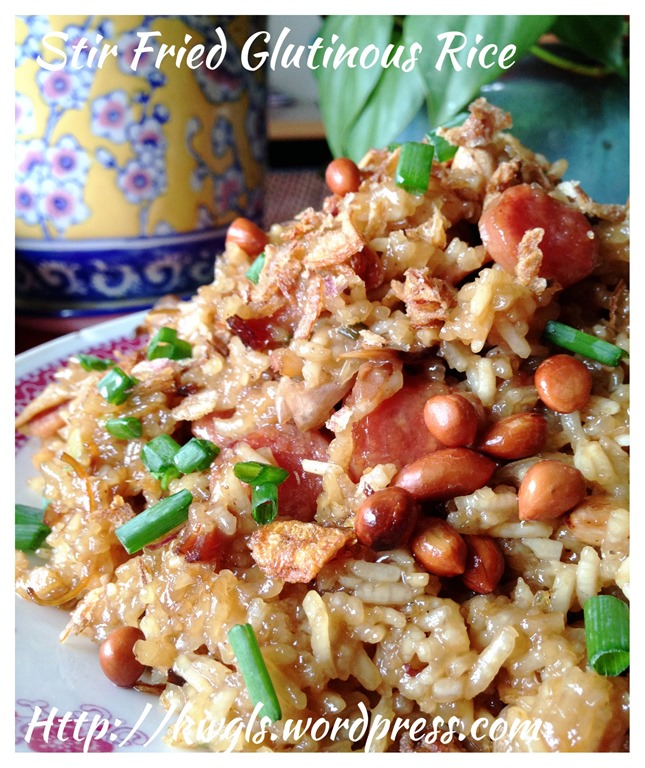 Stir fried glutinous rice dish guai shu shu however as a respect to traditional recipes i have decided to share with all how this dish was prepared traditionally i am unsure when was rice cooker ccuart Gallery