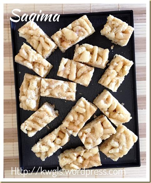Caramelized Egg Fritters (Sachima or Shaqima 沙琪玛)