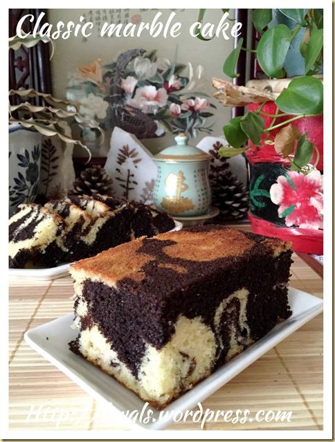 Classic Marble Cake (古早味云石蛋糕)