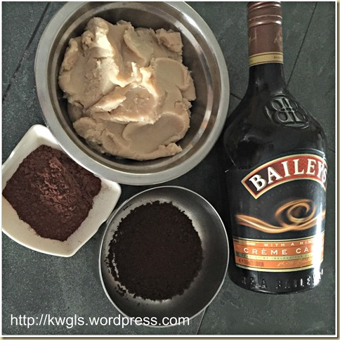 Homemade Baileys Coffee Filling (百利酒咖啡馅)