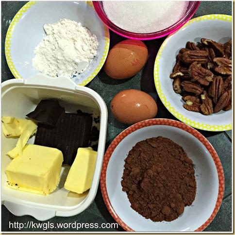 Pecan Brownies (胡桃布朗尼)